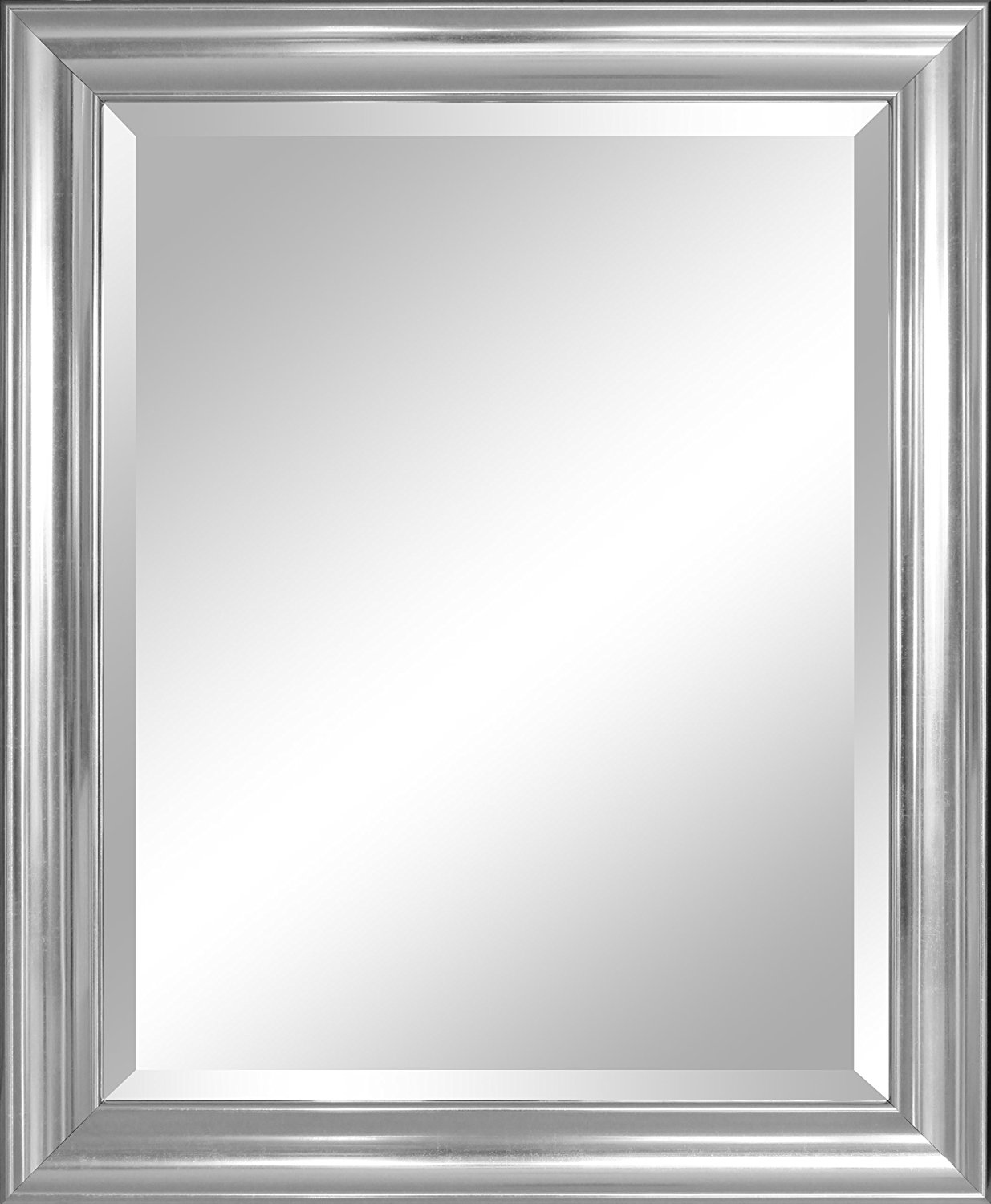 Silver Wall Mirror For Antique And Elegant Look Decor On