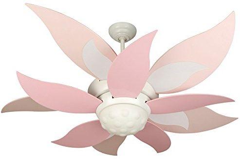 Craftmade BBL52-PNK, Five Pink Bloom Fan Blades