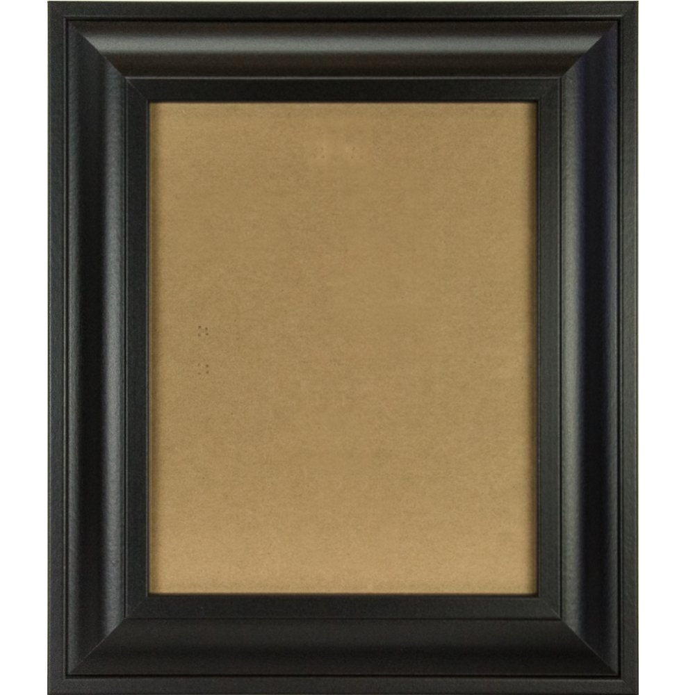 Craig Frames 21834700BK 20x30 Picture/Poster Frame, Smooth Finish, 2-Inch Wide, Black