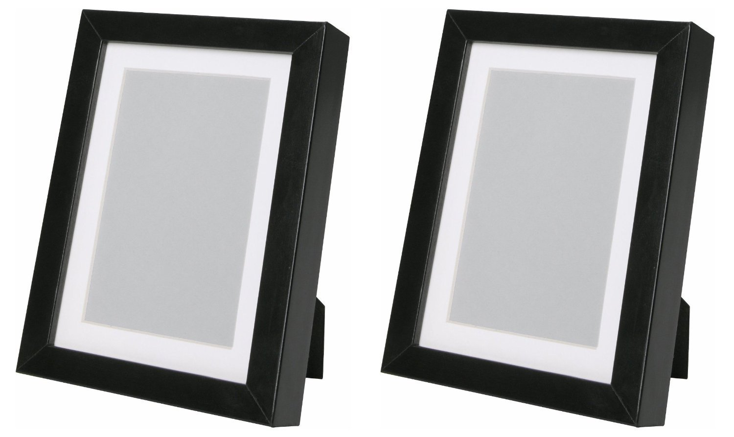 Ikea Ribba 5x7 Picture Frame. Black. Set of 2